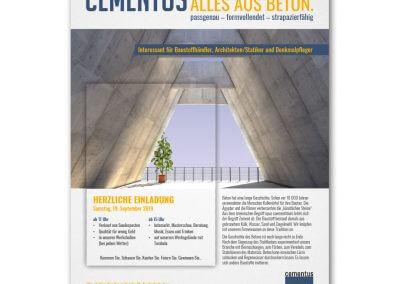 Cementus Betonbau Anzeige