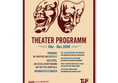 Theater im Parkett Plakat