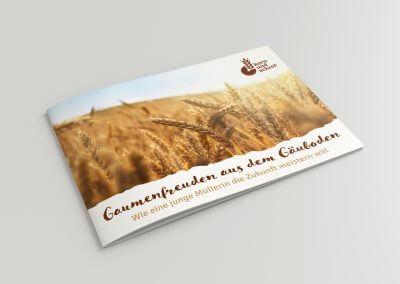 Getreidemühle Korn und Schrot Broschüre