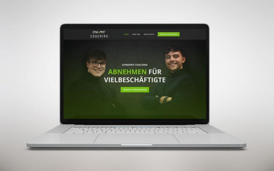 GymSpirit Coaching Webdesign